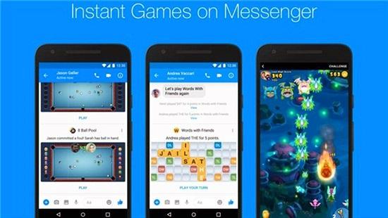 Facebook ra mắt ứng dụng Game trên Messenger