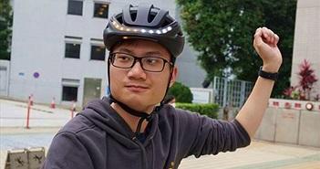 Mũ bảo hiểm thông minh Lumos đã có thể điều khiển bằng Apple Watch