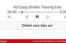 Hướng dẫn tạo tiểu sử Facebook bằng trình phát nhạc bài hát