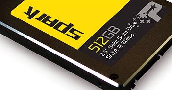 Patriot giới thiệu dòng SSD Spark giá rẻ: dung lượng 512 GB chỉ 105 USD