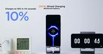 Công nghệ sạc điện thoại nhanh kỷ lục, đầy pin trong 8 phút