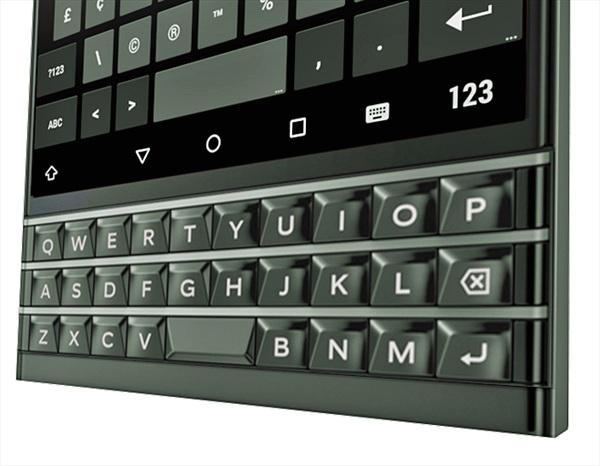 Liệu đây có phải là chiếc BlackBerry chạy Android?