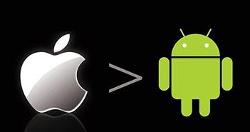 4 yếu tố đến giờ iPhone vẫn tốt hơn Android