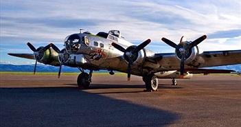 """Ảnh """"pháo đài bay"""" B-17 tái xuất trong thế giới hiện đại"""