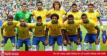 Đội hình ra sân, danh sách cầu thủ của 2 đội Brazil vs Mexico trong trận tối nay