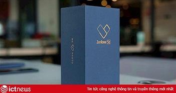 Mở hộp Asus Zenfone 5Z vừa ra mắt tại Việt Nam, giá từ 7,99 triệu đồng