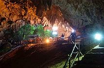 Cấu trúc hang động cản trở giải cứu đội bóng nhí Thái Lan
