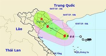 Cảnh báo: Bão số 2 mạnh dần lên, Hà Nội mưa lớn từ chiều nay
