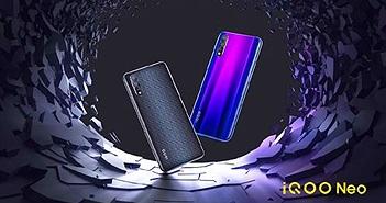 Vivo iQOO Neo ra mắt: Snapdragon 845, pin 4.000mAh, giá 261 USD