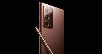 Galaxy Note 20 Ultra lộ diện: kích thước khác biệt