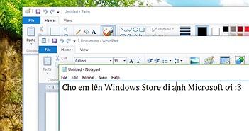 Microsoft có kế hoạch chuyển các ứng dụng nền Desktop sang Universal, trước tiên là Notepad