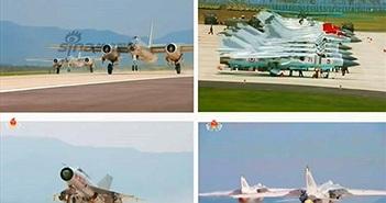 Loạt chiến đấu cơ Triều Tiên phô diễn hoành tráng