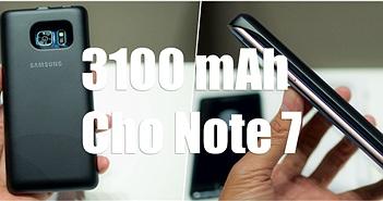 Trên tay pin di động không dây cho Note 7