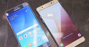 [Galaxy Note 7] So sánh Samsung Galaxy Note 7 và Galaxy Note 5
