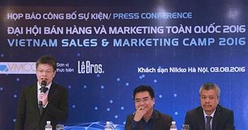 Đại hội bán hàng và Marketing toàn quốc 2016 sẽ sử dụng hoàn toàn công nghệ số