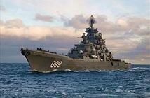 Hùng vĩ siêu hạm hạt nhân lớp Kirov của Hải quân Nga