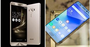 [Galaxy Note 7] So cấu hình Galaxy Note 7 và Zenfone 3 Deluxe