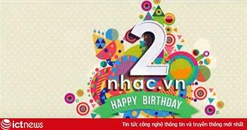 Nhiều sao Việt nô nức gửi lời chúc mừng sinh nhật Nhac.vn tròn 2 tuổi