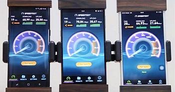 Bphone 2 tải dữ liệu nhanh hơn iPhone 7 Plus và Galaxy S8