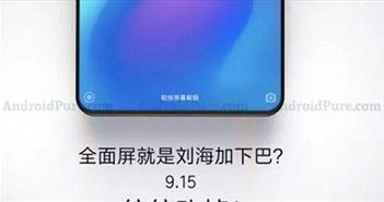 Lộ Xiaomi Mi MIX 3 viền quá mỏng, ra mắt vào tháng sau