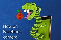 Game Rắn săn mồi chính thức hỗ trợ AR trên camera Facebook