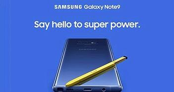 Galaxy Note 9 bất ngờ lộ diện bởi Samsung, hình ảnh sau đó đã bị xoá
