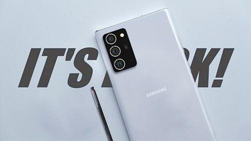 Galaxy Note 20 Ultra quay phim xịn hơn với 8K/120p