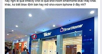 Nghi vấn Bkav sắp mở showroom Bphone?