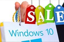 Windows 10 chiếm 5% thị phần sau hơn bốn tuần ra mắt