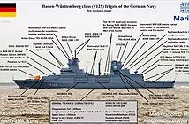 Khám phá khu trục hạm F-125 đắt nhất châu Âu của Hải quân Đức