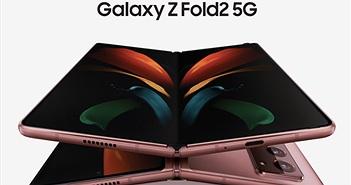 """Samsung Galaxy Z Fold2 giá 50 triệu, 1000 quà tặng """"độc nhất vô nhị"""" cho khách đặt trước"""