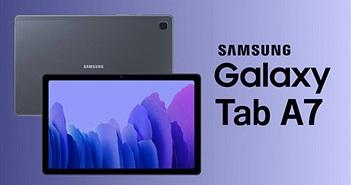 Samsung ra mắt Galaxy Tab A7 (2020): màn hình 10,4 inch, 4 loa Dolby Atmos