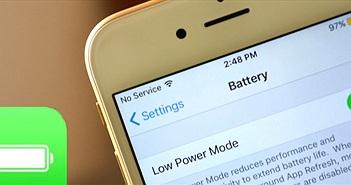 Hướng dẫn bật chế độ tiết kiệm năng lượng trên iOS 9