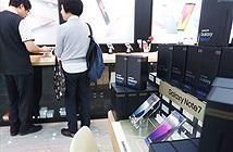 [Galaxy Note 7] Người Hàn Quốc ủng hộ mạnh mẽ Galaxy Note 7 trong ngày bán lại