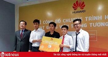 """10 sinh viên Việt Nam được nhận học bổng """"Hạt giống Viễn thông Tương lai 2017"""" của Huawei"""