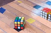 Độc đáo khối rubik có thể tự xoay và giải chính nó mà không cần con người trợ giúp