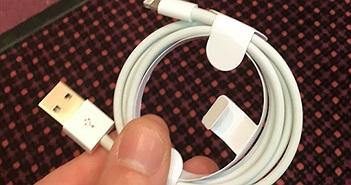 Cáp Lightning có thể hack iPhone sẽ được sản xuất đại trà