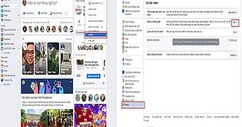 Hướng dẫn bạn tắt tính năng phát video tự động trên Facebook