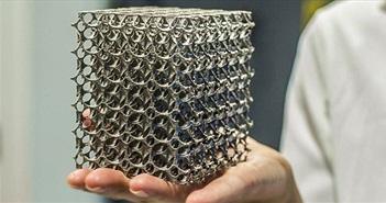 Thép in 3D không gỉ và chịu lực hơn thép thông thường