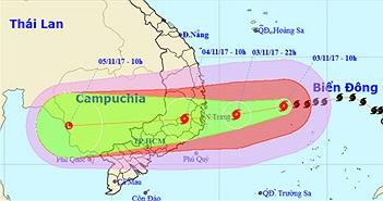 Vì sao bão số 12 càng vào gần bờ càng mạnh?