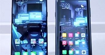 SỐC: Smartphone 2 màn hình, 2 khóa vân tay và giá chỉ từ 11 triệu đồng