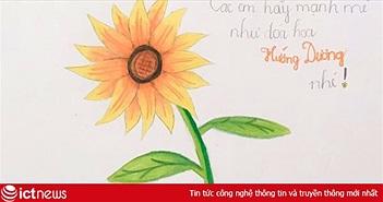 """Hình vẽ """"hoa hướng dương"""" tiếp tục xuất hiện trên Facebook sau thời hạn 2/12"""