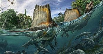 """Loài khủng long """"kỳ cục"""" săn cá như thần mà không thể bơi"""