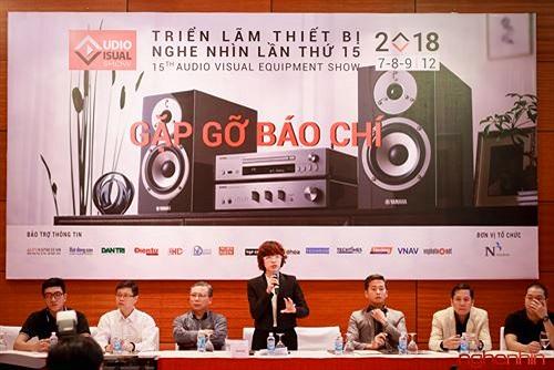 AV Show 2018 lần thứ 15 sẽ diễn ra từ 7-9 tháng 12 tại Hà Nội