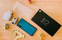 Trên tay Mi Note 10 đầu tiên tại Việt Nam: camera 108MP, 5 ống kính, bản ROM quốc tế