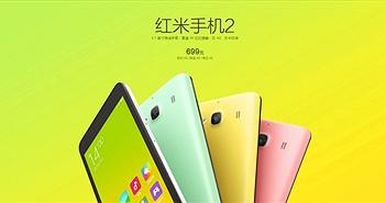 """Xiaomi ra mắt smartphone Redmi 2 với giá """"siêu rẻ"""""""