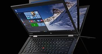[CES 2016] Lenovo ra mắt ThinkPad X1 Yoga: tuỳ chọn Core i7, màn hình OLED, 4G LTE, từ 1.449$