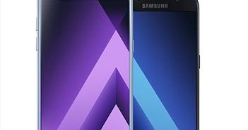 Samsung Galaxy A (2017) trình làng: Chống bụi và nước IP68