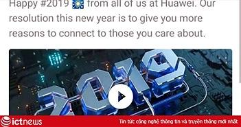 Huawei giáng chức, trừ lương nhân viên soạn tin chúc mừng năm mới bằng iPhone