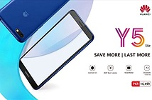 Huawei ra mắt Y5 Lite - Smartphone chạy Android GO thứ 2 của hãng